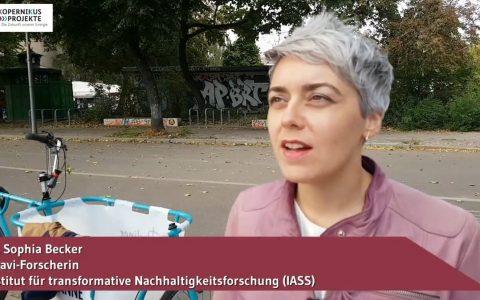 ENavi-Forscherin Dr. Sophia Becker (IASS)